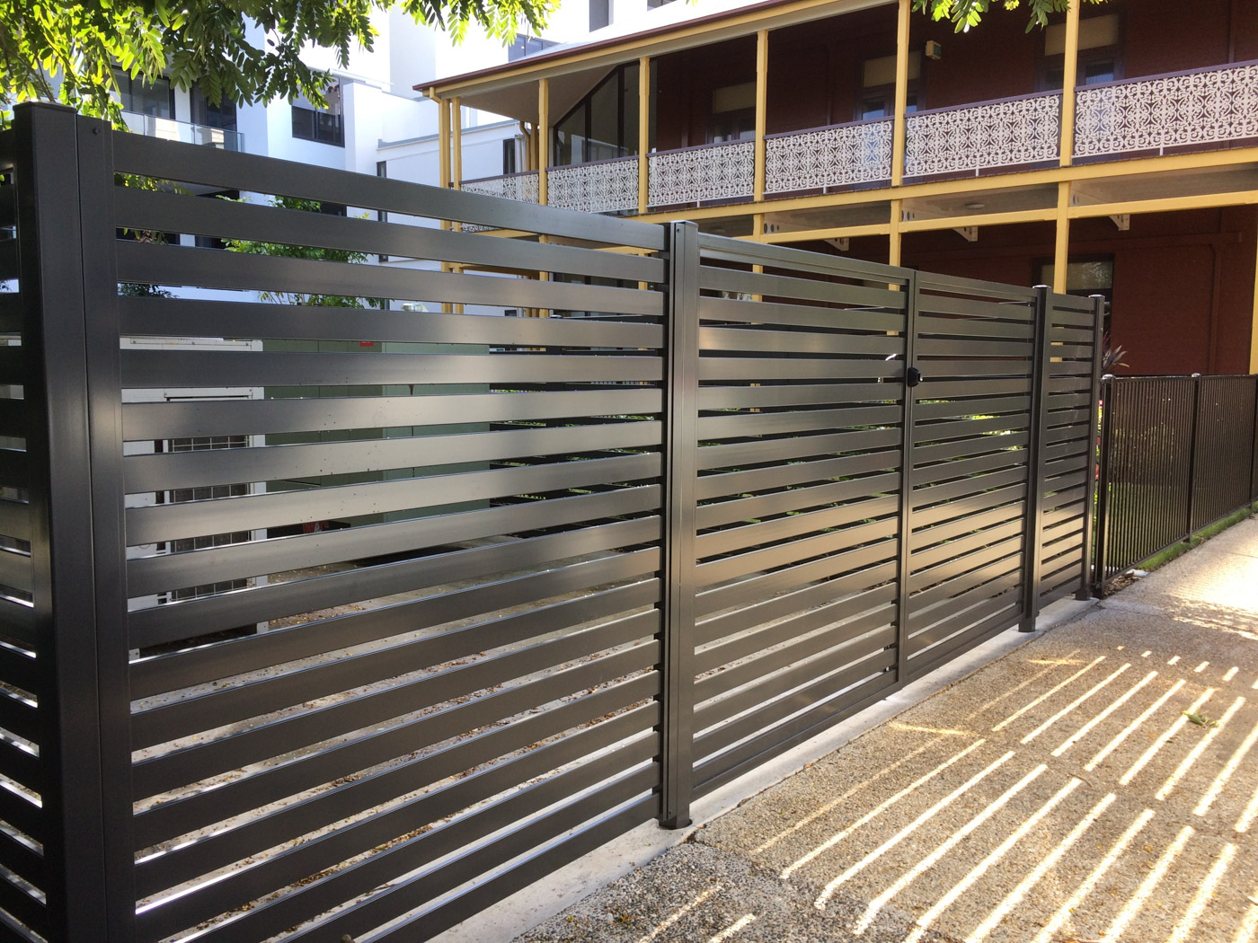 Horizontal Fence Slats
